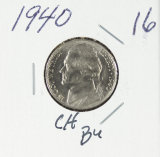 1940 - JEFFERSON NICKEL - BU