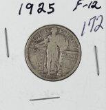 1925 - STANDING LIBERTY QUARTER - F