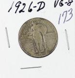 1926-D STANDING LIBERTY QUARTER - VG