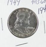 1949 - FRANKLIN HALF DOLLAR - UNC