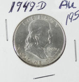 1949 - FRANKLIN HALF DOLLAR - AU