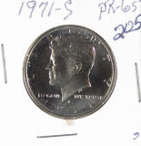 1971-S PROOF KENNEDY HALF DOLLAR