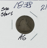 1838 - LIBERTY SEATED DIME