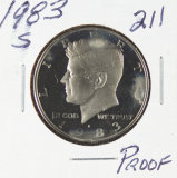 1983-S PROOF KENNEDY HALF DOLLAR