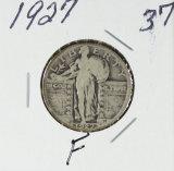 1927 - STANDING LIBERTY QUARTER - F