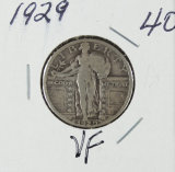 1929 - STANDING LIBERTY QUARTER - VF