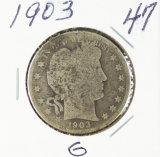 1903 - BARBER HALF DOLLAR - G