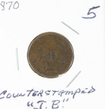 1870 - INDIAN HEAD CENT