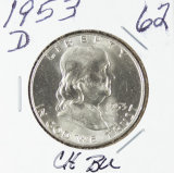 1953-D FRANKLIN HALF DOLLAR - BU