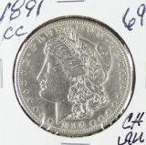 1891-CC MORGAN DOLLAR - CH AU