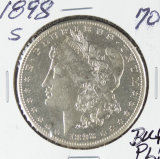 1898-S MORGAN DOLLAR - BU