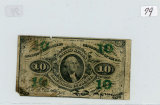 10 CENT FRACANTIONAL CURRENCY NOTE