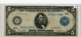 FIVE DOLLAR - FED RESERVE NOTE - CLEVELAND FED