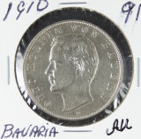 1910 - BAVARIA 3 MARK - AU