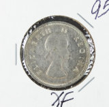 1954  - SOUTH AFRICA - 2 SHILLINGS - XF