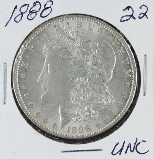 1888 - MORGN DOLLAR - UNC