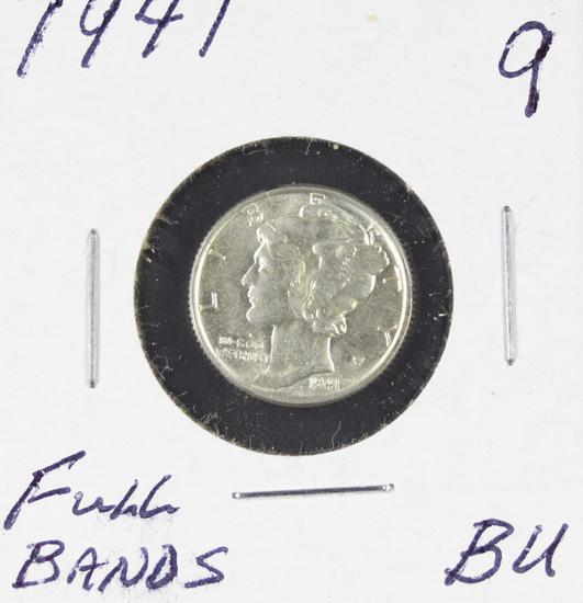 1941 - MERCURY DIME - BU