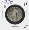 1928 - STANDING LIBERTY QUARTER - F
