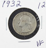 1932 - WASHINGTON QUARTER - VF