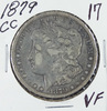 1879-CC MORGAN DOLLAR - VF