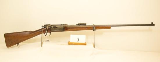 US Springfield, Model 1898 Krag, Bolt Rifle, 30-40