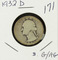 1932-D WASHINGTON QUARTER - G/AG