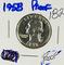 1958 - PROOF WASHINGTON QUARTER