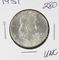 1951 - FRANKLIN HALF DOLLAR -UNC