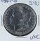 1881-S  MORGAN DOLLAR -UNC