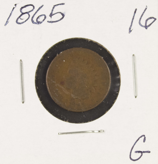 1865 - INDIAN HEAD CENT - G