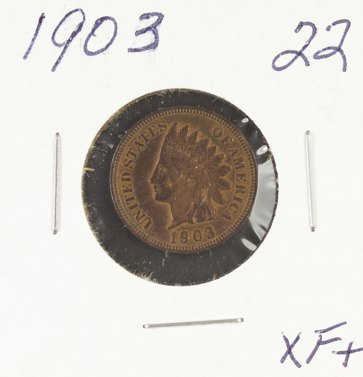 1903 - INDIAN HEAD CENT - XF+