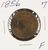 1856 - BRAIDEDHAIR LARGE CENT - F Image 1