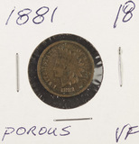 1881 - INDIAN HEAD CENT - VF