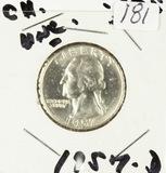 1957-D WASHINGTON QUARTER