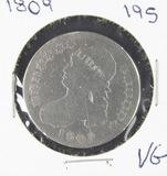 1809 - CAPPED BUST HALF DOLLAR - VG