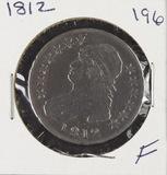 1812 - CAPPED BUST HALF DOLLAR - F