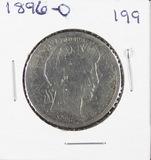 1896-O BARBER HALF DOLLAR - G