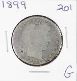 1899 - BARBER HALF DOLLAR - G