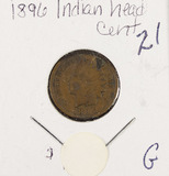 LOT OF 3 - INDIAN HEAD CENTS - G