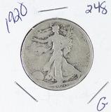 1920 - LIBERTY WALKING HALF DOLLAR - G