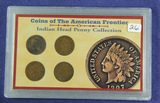 LOT OF 4  INDIAN HEAD CENTS