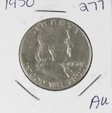1950 -FRANKLIN HALF DOLLAR -AU