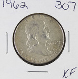 1962 - FRANKLIN HALF DOLLAR -XF