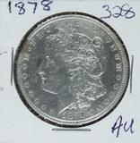 1878 - MORGAN DOLLAR - AU
