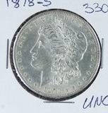 1878-S  MORGAN DOLLAR - UNC