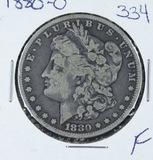 1880-O  MORGAN DOLLAR -F