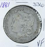 1881-O  MORGAN DOLLAR -VF