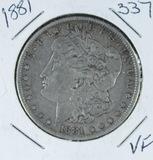 1881 -  MORGAN DOLLAR -VF
