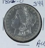 1882-O MORGAN DOLLAR - AU