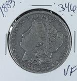 1883 - MORGAN DOLLAR -VF